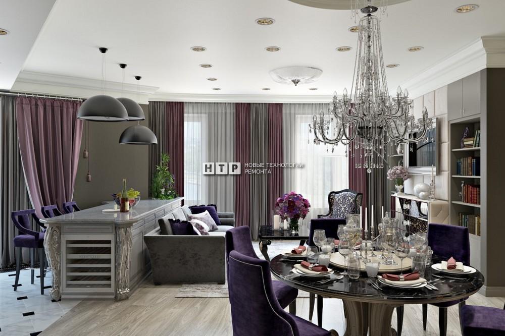Декор квартиры на Шейнкмана